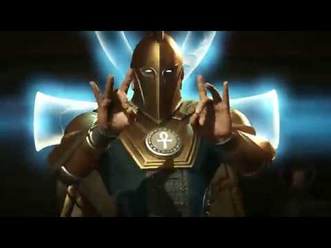 Injustice 2 Dr Fate Official Character Reveal Trailer
