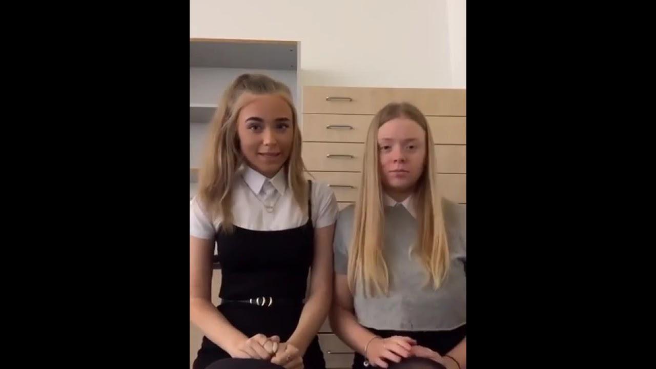 Schoolgirls in black tights - Pantyhose 96