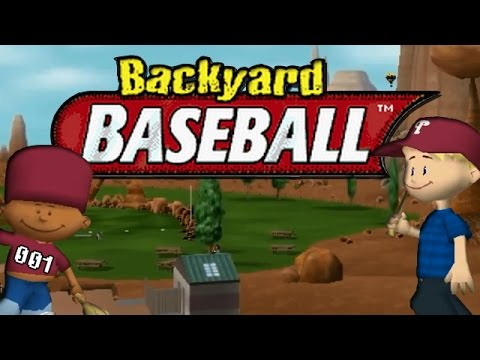 Backyard Baseball 2005 Episode 1 New Season Youtube