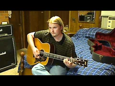 """Beck """"Nitemare Hippy Girl"""" acoustic cover"""