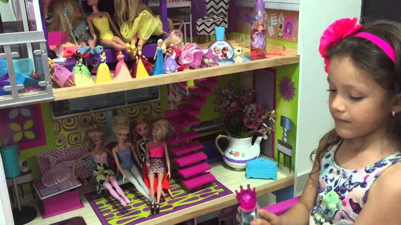 Casa de princesas y mu ecas luciana youtube - Casas de princesas ...