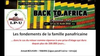 Back To Afrika (Amzat Boukari)