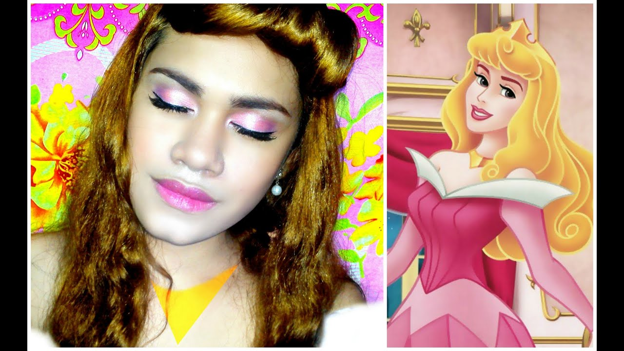 Disney Princess : Sleeping Beauty u0026#39;u0026#39;AURORAu0026#39;u0026#39; Makeup Tutorial - YouTube
