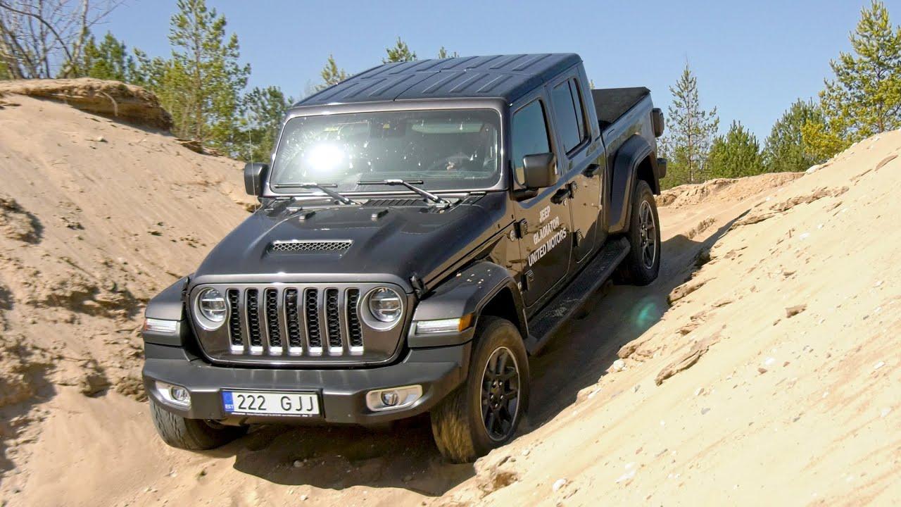 Jeep Gladiator - auto24.ee proovisõit
