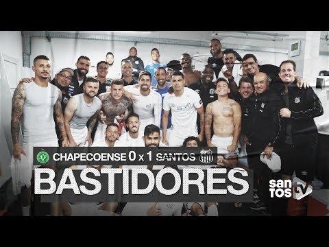 CHAPECOENSE 0 X 1 SANTOS | BASTIDORES | BRASILEIRÃO (31/08/19)