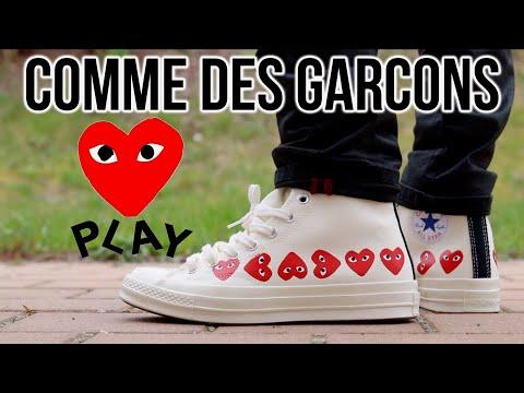 COMME des GARCONS MULTI-HEART WHITE