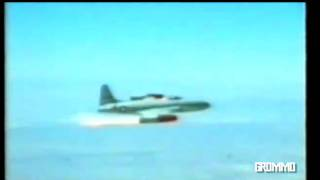 Ramjet engine testing Lockheed P-80 Shooting Star 1947