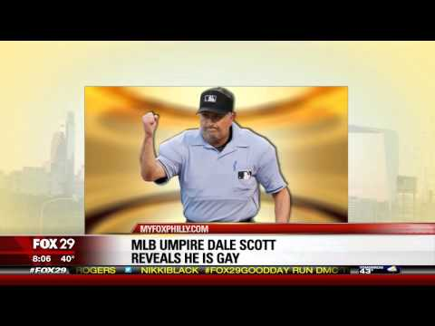 MLB umpire Dale Scott comes out as gay