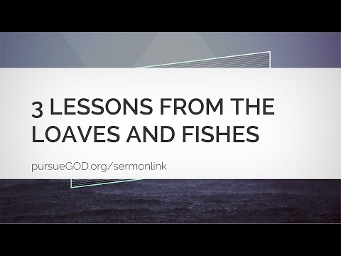 Jesus: The Series #4 - The Miracle Of The Loaves And Fishes