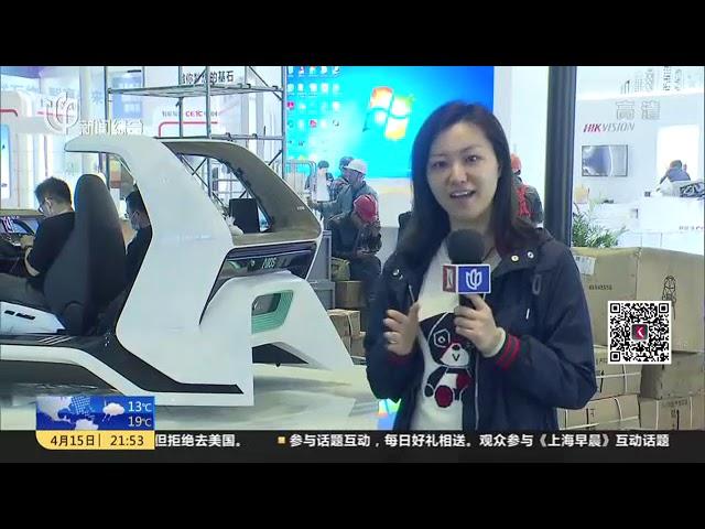 上海车展明天揭幕 记者探营展馆亮点