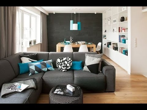 Consejos de como decorar una sala y comedor pequea II