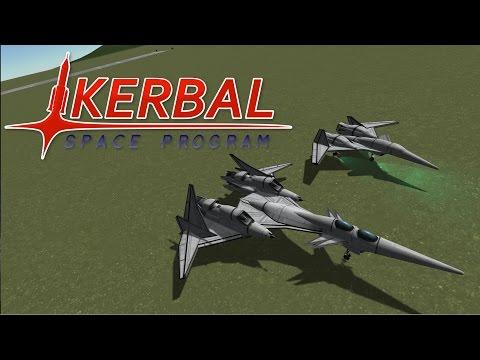 Subscriber Designs - Sci Fi Fighter Jets - Kerbal Space Program |