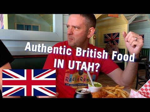 Taking a British Dude to Eat British Food... In Utah???