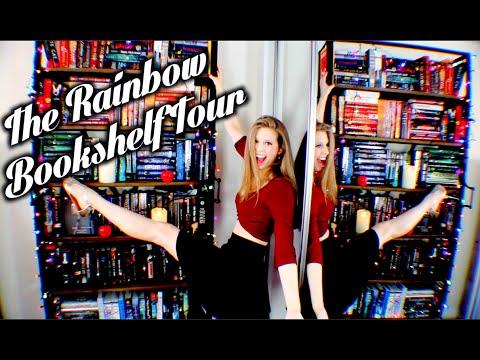 THE RAINBOW BOOKSHELF TOUR