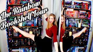 THE RAINBOW BOOKSHELF TOUR
