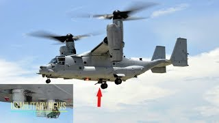 The MV-22 Osprey Packs Some Real Firepower Even If You Can't See It