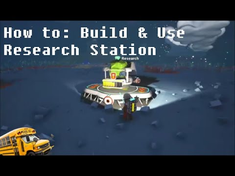 Astroneer - How to Build and Use the Research Station