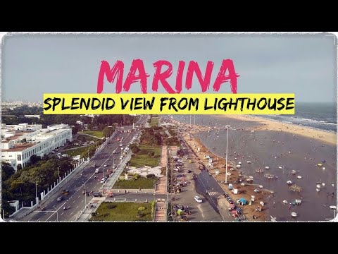 VIEW FROM MARINA LIGHTHOUSE | CHENNAI | TAMILNADU