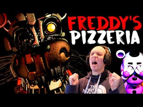 Twin Toys Plays Five Nights at Freddy's:  Freddy's Pizzeria Simulator:  Spring Trap Jumpscare
