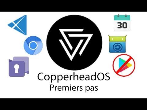 CopperheadOS (partie 2) - Premiers pas