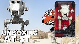 Zapętlaj Unboxing AT ST Black series - Star wars Coleccion   Jeshua Revan