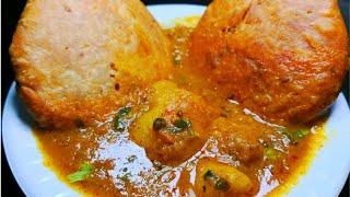 मसालेदार आलू की सब्जी जो खायी जाए कचोरी के साथ  Kachori wale Aloo ki Sabzi | Aloo ki Sabzi