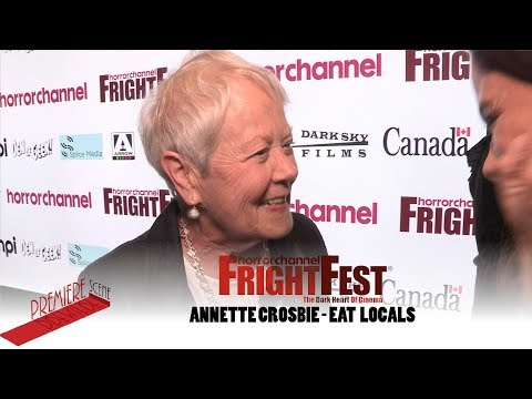Annette Crosbie  at Eat Locals FrightFest . I don't believe it!