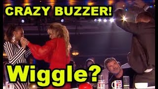 """Wiggle"" Judges Go CRAZY #3 GOLDEN BUZZER! Donchez Gets David"