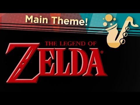 """Main Theme (From """"Zelda"""") Soprano and Alto Saxophone Game Cover"""