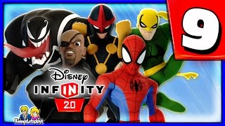 Disney Infinity 2.0 Spider-Man Walkthrough Part 9 (Mysterio