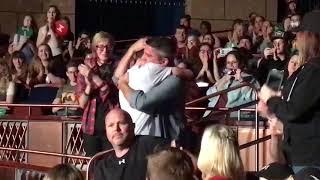 Crankgameplays hugs his dad at markiplier YWT