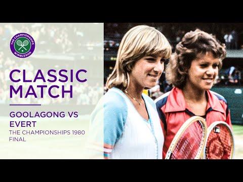 Chris Evert Vs Evonne Goolagong Cawley Wimbledon F 1980