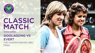 Chris Evert Vs Evonne Goolagong Cawley   Wimbledon 1980 Final   Full Match