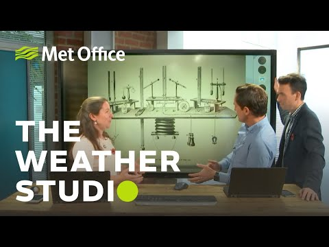 Meteorology Hits The Big Screen! – The Weather Studio 29/10/19