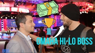 Poker Pro Brandon Shack-Harris: How to Crush Omaha Hi-Lo Tournaments