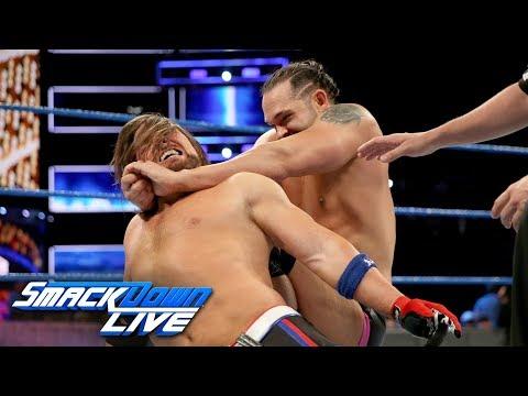 AJ Styles vs. Tye Dillinger - United States Championship Match: SmackDown LIVE, Sept. 12, 2017