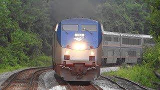 An Hour's Worth Of Trains Thru Shenandoah Junction