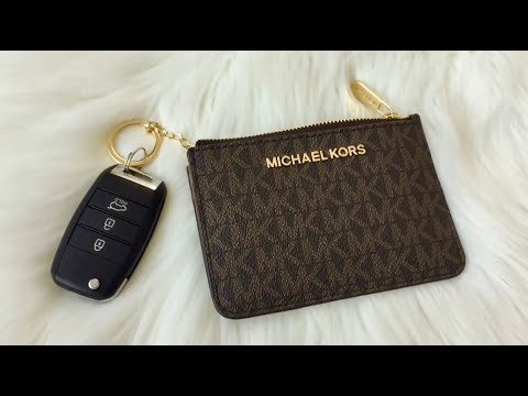 michael-kors-jet-set-travel-coin-pouch-/-card-case-/-key-holder-|-reveal-|-review
