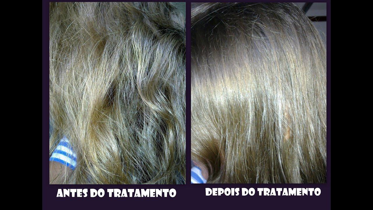 Resultado de imagem para fotos de mulheres antes e depois os cabelos ressecados e hidratados