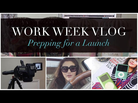 Prepping for a Launch | Work Week Vlog #4