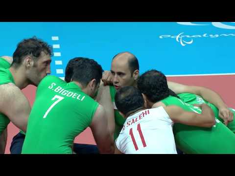 Sitting Volleyball | Men's Semi-Final Brazil v Islamic Republic of Iran | Rio 2016 Paralympic Games