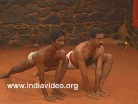 Training body and mind: Kalaripayattu