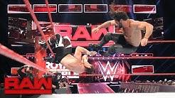 Seth Rollins vs. Sami Zayn - If Zayn wins, he takes Rollins' Royal Rumble spot: Raw, Jan. 23, 2017
