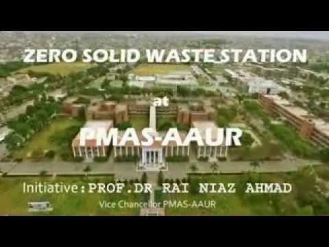 Zero Solid Waste Station at PMAS UAAR Rwp