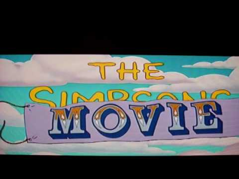 the simpsons movie intro youtube