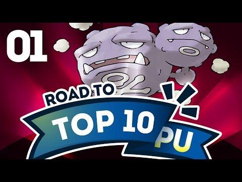 Pokemon Showdown Road to Top Ten: Pokemon Sun & Moon PU w/ PokeaimMD #1