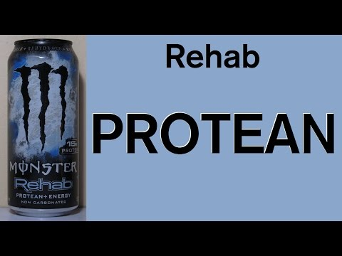 Review #8: Monster Energy Rehab PROTEAN
