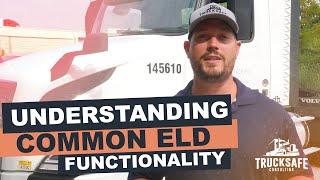 Understanding Common ELD Functionality