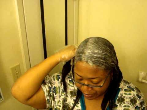 review dark and lovely relaxer ft how i relaxer my hair