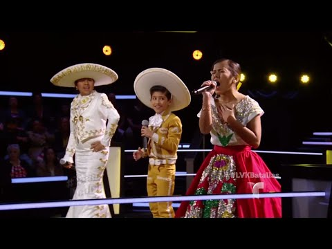 Dulce, Brian y Yajahira interpretan 'Ay Jalisco No Te Rajes'| La Voz Kids 2016